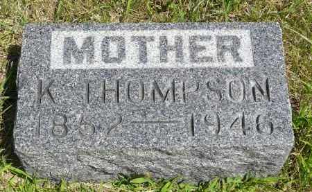 THOMPSON, KAREN - Minnehaha County, South Dakota | KAREN THOMPSON - South Dakota Gravestone Photos