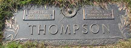 THOMPSON, LOWELL J. - Minnehaha County, South Dakota | LOWELL J. THOMPSON - South Dakota Gravestone Photos