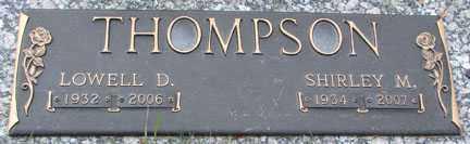 THOMPSON, SHIRLEY MAE - Minnehaha County, South Dakota | SHIRLEY MAE THOMPSON - South Dakota Gravestone Photos