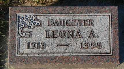 THOMPSON, LEONA A. - Minnehaha County, South Dakota | LEONA A. THOMPSON - South Dakota Gravestone Photos