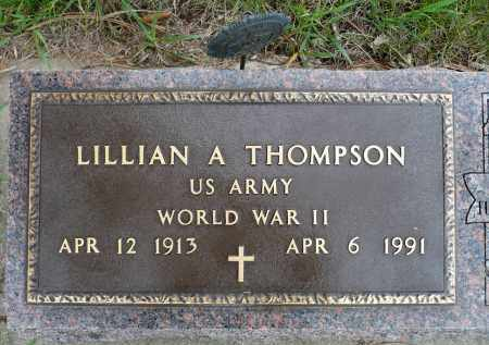 NIELSEN THOMPSON, LILLIAN A. - Minnehaha County, South Dakota | LILLIAN A. NIELSEN THOMPSON - South Dakota Gravestone Photos