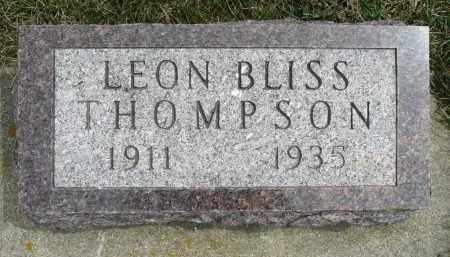 THOMPSON, LEON BLISS - Minnehaha County, South Dakota | LEON BLISS THOMPSON - South Dakota Gravestone Photos