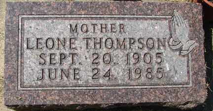 THOMPSON, LEONE - Minnehaha County, South Dakota | LEONE THOMPSON - South Dakota Gravestone Photos