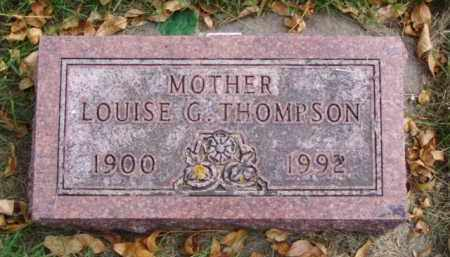 THOMPSON, LOUISE G. - Minnehaha County, South Dakota | LOUISE G. THOMPSON - South Dakota Gravestone Photos