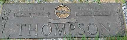 THOMPSON, FRANCES V. - Minnehaha County, South Dakota | FRANCES V. THOMPSON - South Dakota Gravestone Photos