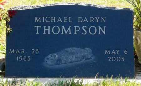 THOMPSON, MICHAEL DARYN - Minnehaha County, South Dakota   MICHAEL DARYN THOMPSON - South Dakota Gravestone Photos