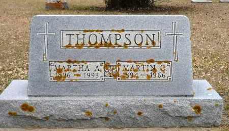 THOMPSON, MARTH A. - Minnehaha County, South Dakota | MARTH A. THOMPSON - South Dakota Gravestone Photos
