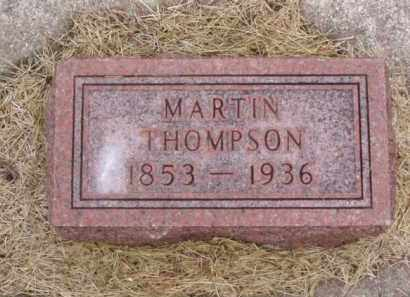 THOMPSON, MARTIN - Minnehaha County, South Dakota | MARTIN THOMPSON - South Dakota Gravestone Photos