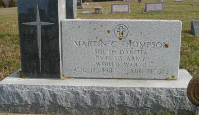 THOMPSON, MARTIN C. (WWII) - Minnehaha County, South Dakota | MARTIN C. (WWII) THOMPSON - South Dakota Gravestone Photos