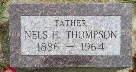THOMPSON, NELS H. - Minnehaha County, South Dakota | NELS H. THOMPSON - South Dakota Gravestone Photos