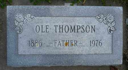 THOMPSON, OLE - Minnehaha County, South Dakota | OLE THOMPSON - South Dakota Gravestone Photos