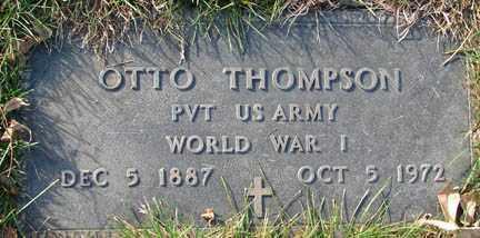 THOMPSON, OTTO - Minnehaha County, South Dakota | OTTO THOMPSON - South Dakota Gravestone Photos