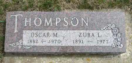 THOMPSON, OSCAR M. - Minnehaha County, South Dakota | OSCAR M. THOMPSON - South Dakota Gravestone Photos