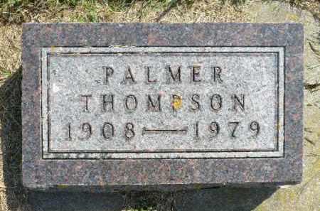 THOMPSON, PALMER - Minnehaha County, South Dakota | PALMER THOMPSON - South Dakota Gravestone Photos