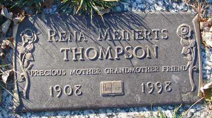 THOMPSON, RENA - Minnehaha County, South Dakota | RENA THOMPSON - South Dakota Gravestone Photos