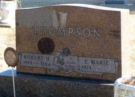 THOMPSON, E. MARIE - Minnehaha County, South Dakota | E. MARIE THOMPSON - South Dakota Gravestone Photos
