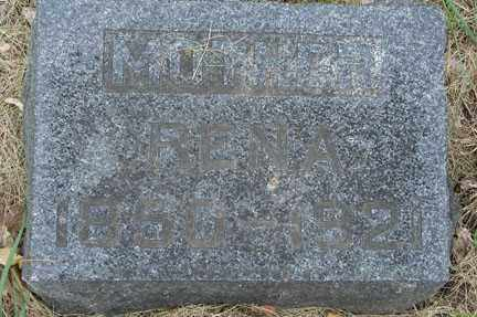 THOMPSON, RENA - Minnehaha County, South Dakota   RENA THOMPSON - South Dakota Gravestone Photos