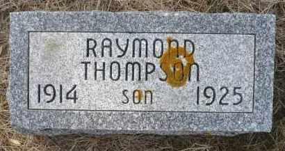 THOMPSON, RAYMOND - Minnehaha County, South Dakota | RAYMOND THOMPSON - South Dakota Gravestone Photos