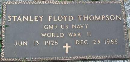 THOMPSON, STANLEY FLOYD - Minnehaha County, South Dakota | STANLEY FLOYD THOMPSON - South Dakota Gravestone Photos
