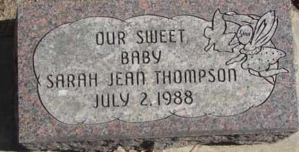 THOMPSON, SARAH JEAN - Minnehaha County, South Dakota | SARAH JEAN THOMPSON - South Dakota Gravestone Photos