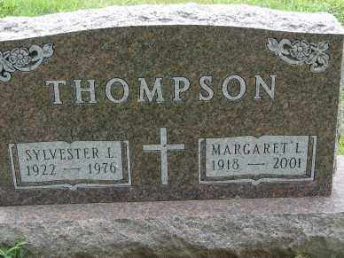 THOMPSON, MARGARET L. - Minnehaha County, South Dakota | MARGARET L. THOMPSON - South Dakota Gravestone Photos