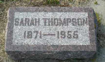THOMPSON, SARAH - Minnehaha County, South Dakota | SARAH THOMPSON - South Dakota Gravestone Photos