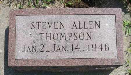 THOMPSON, STEVEN ALLEN - Minnehaha County, South Dakota | STEVEN ALLEN THOMPSON - South Dakota Gravestone Photos