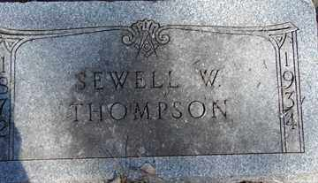 THOMPSON, SEWELL W. - Minnehaha County, South Dakota | SEWELL W. THOMPSON - South Dakota Gravestone Photos