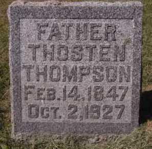 THOMPSON, THOSTEN - Minnehaha County, South Dakota   THOSTEN THOMPSON - South Dakota Gravestone Photos