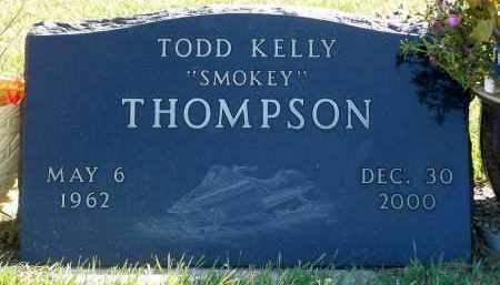 THOMPSON, TODD KELLY - Minnehaha County, South Dakota | TODD KELLY THOMPSON - South Dakota Gravestone Photos
