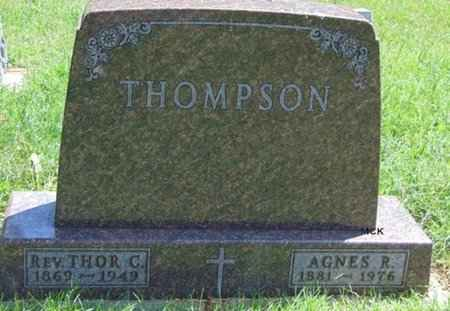 THOMPSON, AGNES R. - Minnehaha County, South Dakota | AGNES R. THOMPSON - South Dakota Gravestone Photos