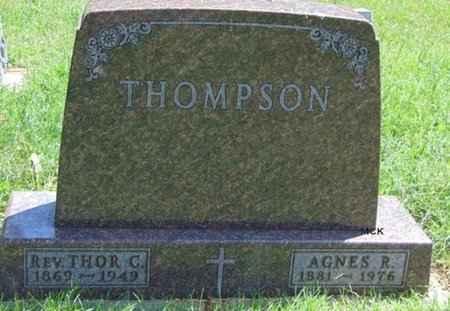 THOMPSON, THOR C. - Minnehaha County, South Dakota | THOR C. THOMPSON - South Dakota Gravestone Photos