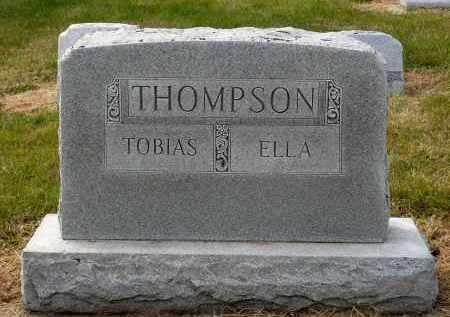 THOMPSON, ELLA - Minnehaha County, South Dakota | ELLA THOMPSON - South Dakota Gravestone Photos