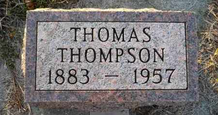 THOMPSON, THOMAS - Minnehaha County, South Dakota | THOMAS THOMPSON - South Dakota Gravestone Photos