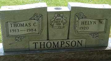 THOMPSON, HELYN W. - Minnehaha County, South Dakota   HELYN W. THOMPSON - South Dakota Gravestone Photos