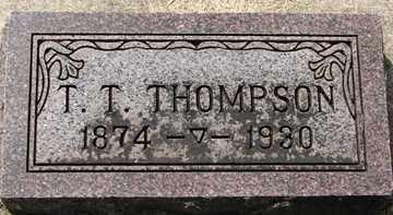 THOMPSON, THORSTEN T. - Minnehaha County, South Dakota | THORSTEN T. THOMPSON - South Dakota Gravestone Photos
