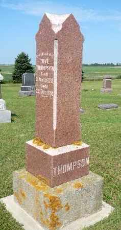 THOMPSON, TOVE - Minnehaha County, South Dakota | TOVE THOMPSON - South Dakota Gravestone Photos