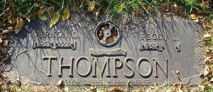 THOMPSON, PEGGY L. - Minnehaha County, South Dakota   PEGGY L. THOMPSON - South Dakota Gravestone Photos