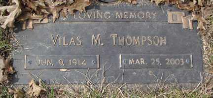 THOMPSON, VILAS M. - Minnehaha County, South Dakota | VILAS M. THOMPSON - South Dakota Gravestone Photos