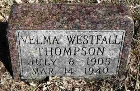 THOMPSON, VELMA - Minnehaha County, South Dakota | VELMA THOMPSON - South Dakota Gravestone Photos