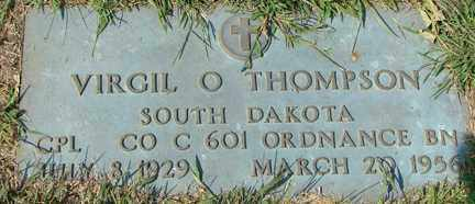 THOMPSON, VIRGIL O. (MILITARY) - Minnehaha County, South Dakota   VIRGIL O. (MILITARY) THOMPSON - South Dakota Gravestone Photos