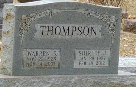 THOMPSON, WARREN S. - Minnehaha County, South Dakota | WARREN S. THOMPSON - South Dakota Gravestone Photos