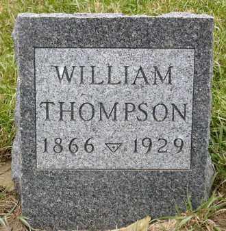 THOMPSON, WILLIAM - Minnehaha County, South Dakota | WILLIAM THOMPSON - South Dakota Gravestone Photos