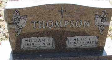THOMPSON, WILLIAM H. - Minnehaha County, South Dakota | WILLIAM H. THOMPSON - South Dakota Gravestone Photos