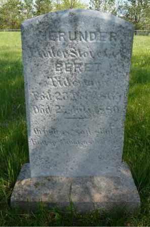 TIDEMANN, BERET - Minnehaha County, South Dakota | BERET TIDEMANN - South Dakota Gravestone Photos