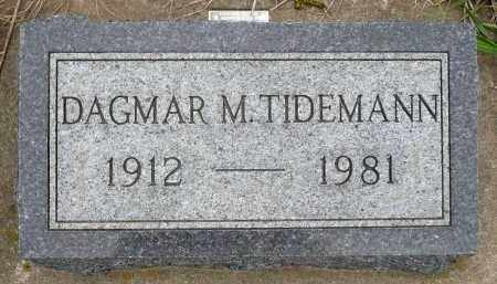 TIDEMANN, DAGMAR M. - Minnehaha County, South Dakota | DAGMAR M. TIDEMANN - South Dakota Gravestone Photos