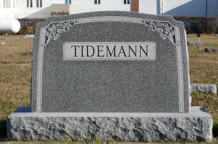 TIDEMANN, HAROLD S. - Minnehaha County, South Dakota | HAROLD S. TIDEMANN - South Dakota Gravestone Photos