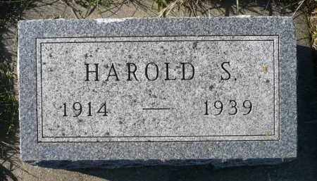 TIDEMANN, HAROLD S. - Minnehaha County, South Dakota | HAROLD S. TIDEMANN - South Dakota Gravestone Photos