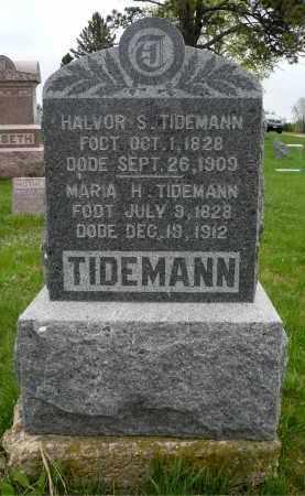 TIDEMANN, HALVOR S. - Minnehaha County, South Dakota | HALVOR S. TIDEMANN - South Dakota Gravestone Photos
