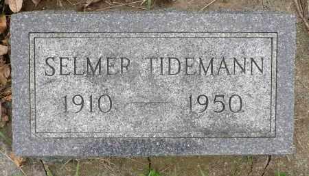 TIDEMANN, SELMER - Minnehaha County, South Dakota | SELMER TIDEMANN - South Dakota Gravestone Photos